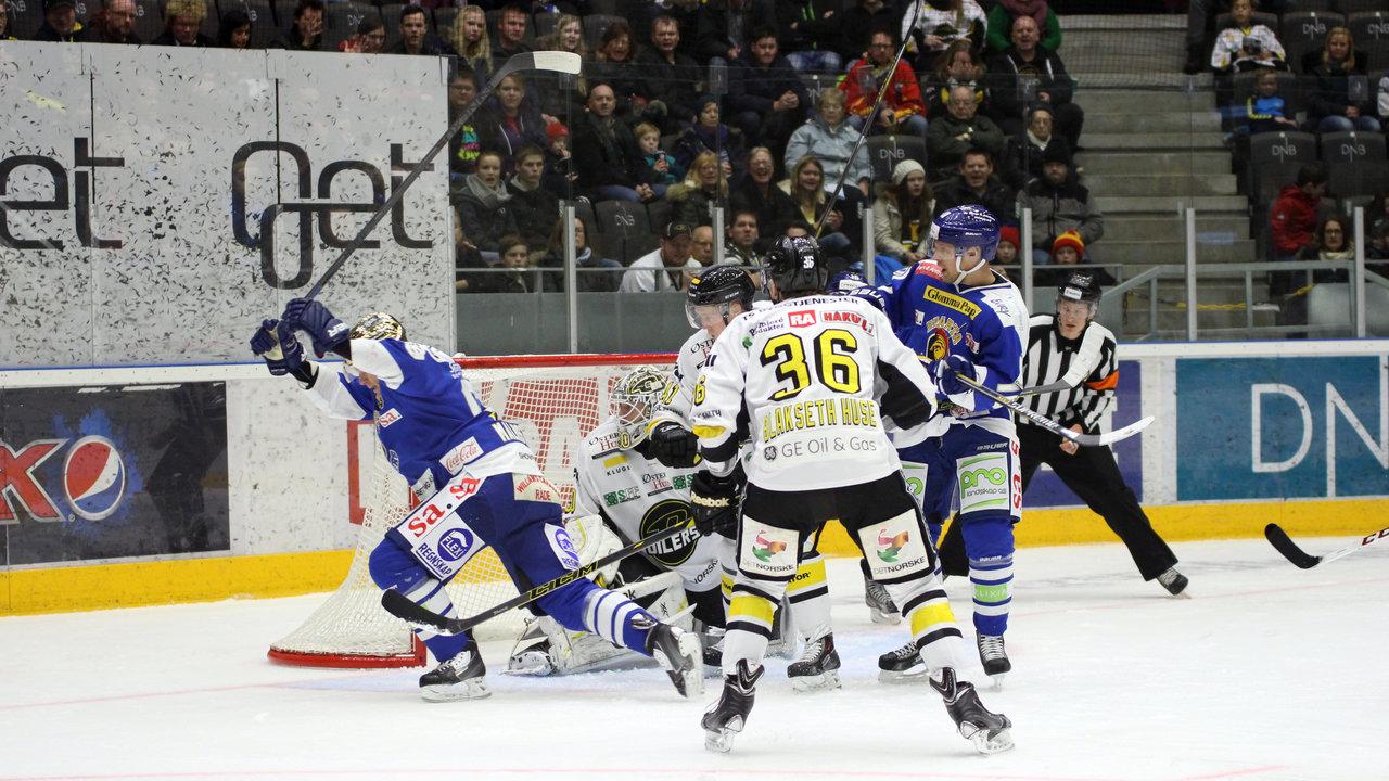 Henrik Malmström satt kampens første mål!