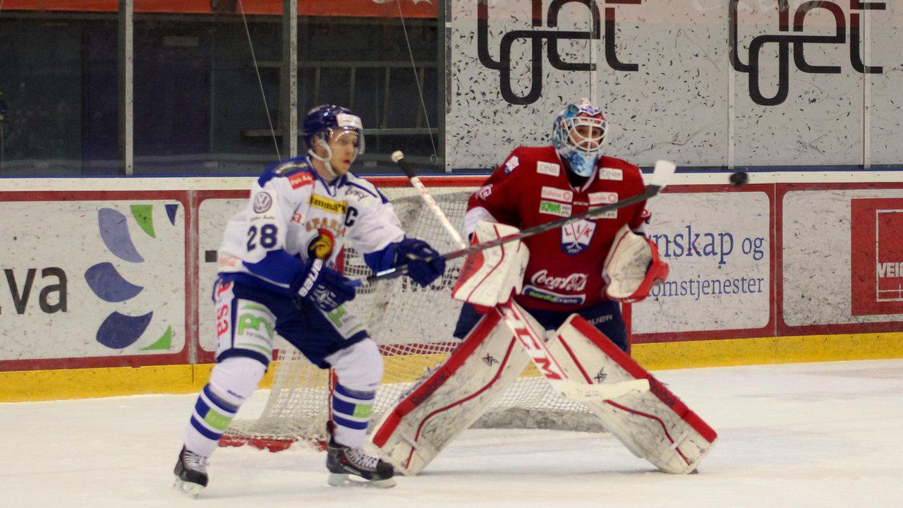 Niklas Roest prøver seg på en styring.