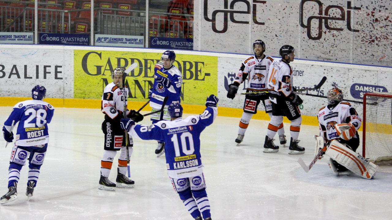 Niklas Roest utlignet for Sparta.