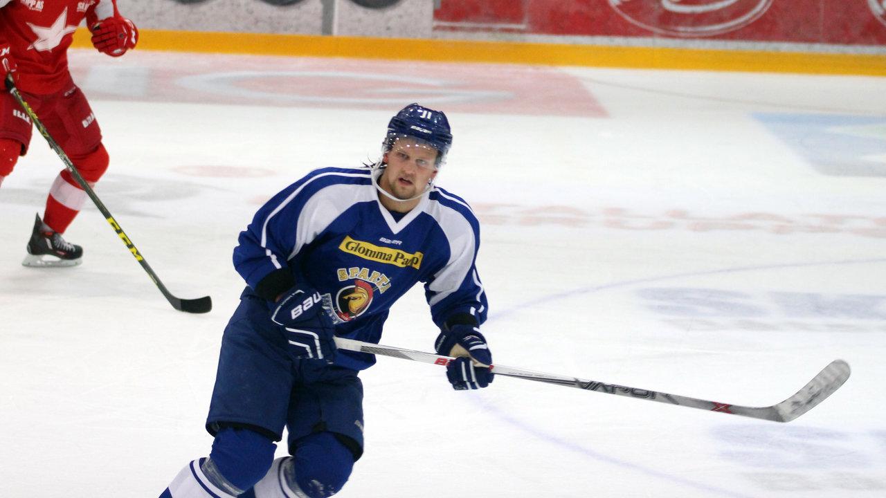 Kampens store spiller, Patrick Eriksson!