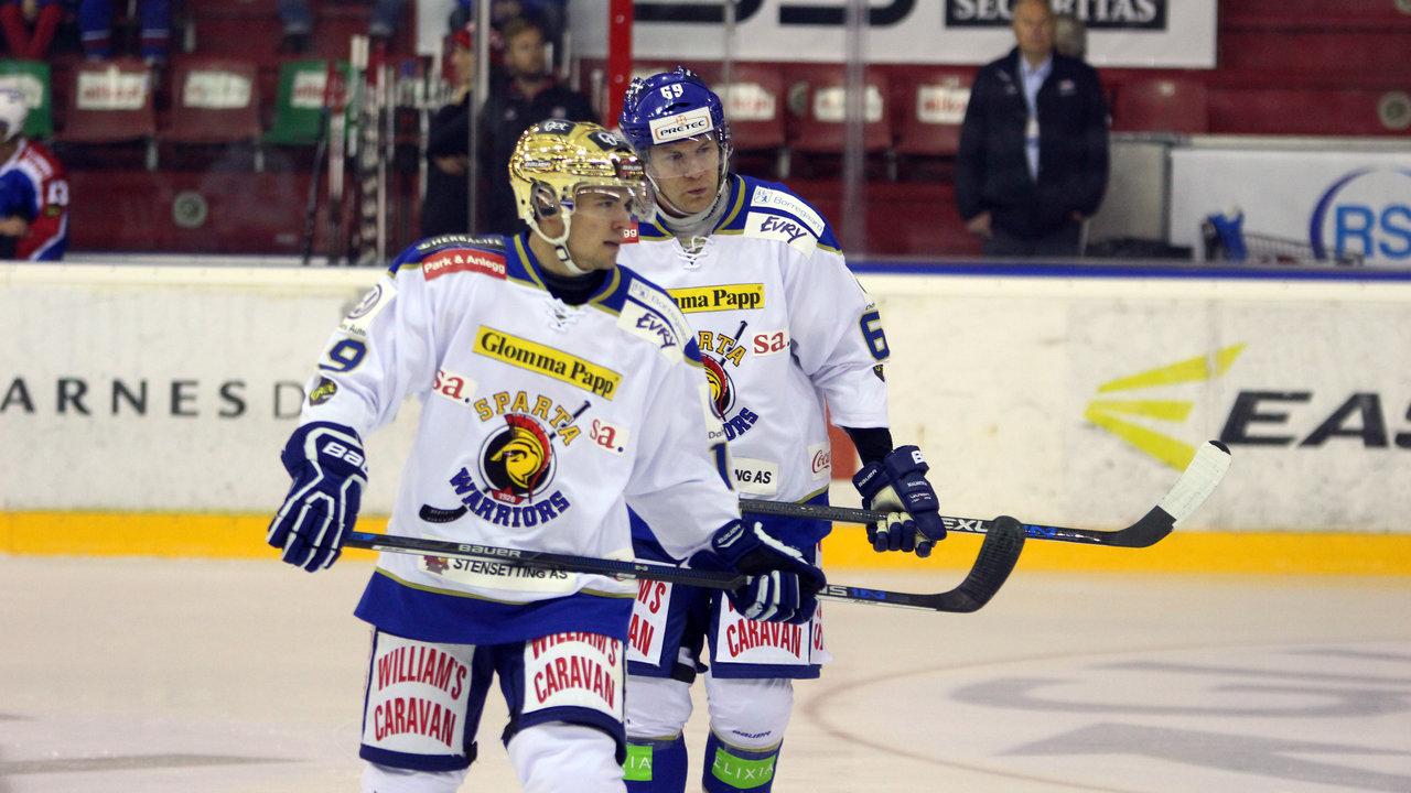 Dion Knelsen og Henrik Malmström.