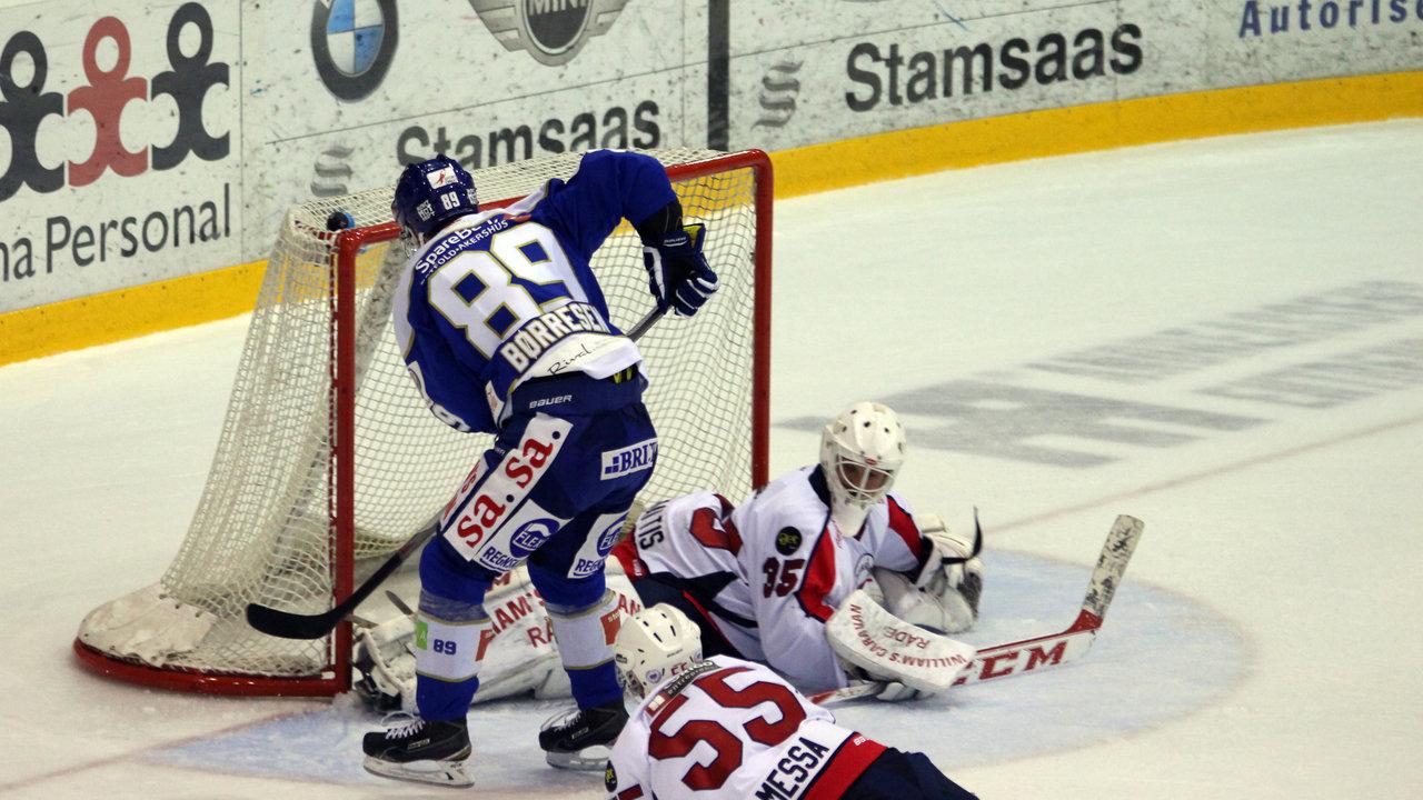 Eirik Børresen med en god sjanse.