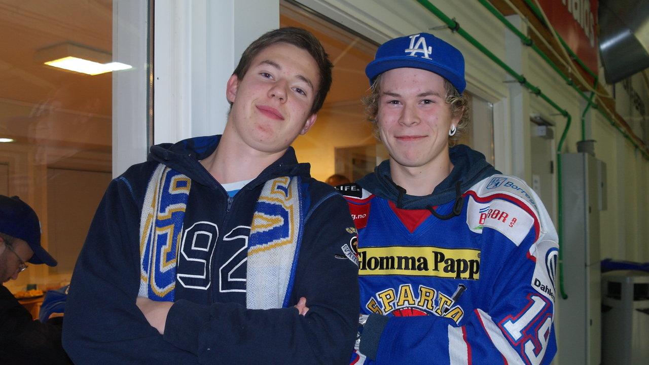 Kristian og Dennis, foto: Malin Lystad