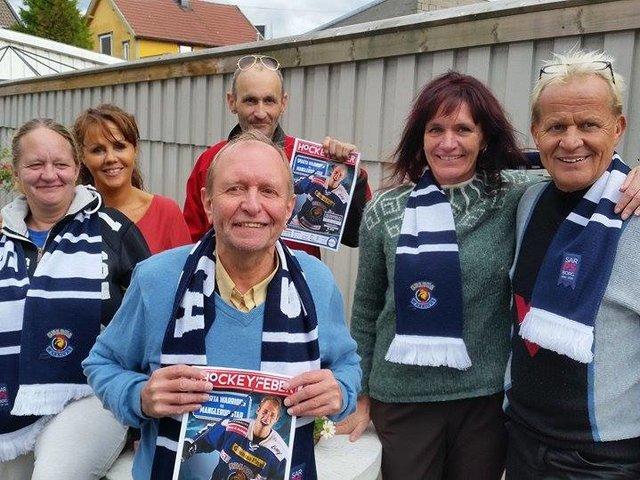 Hanne Merethe, Heidi, Ingar, Arni, Kjersti og Karl Rune var klare til kamp