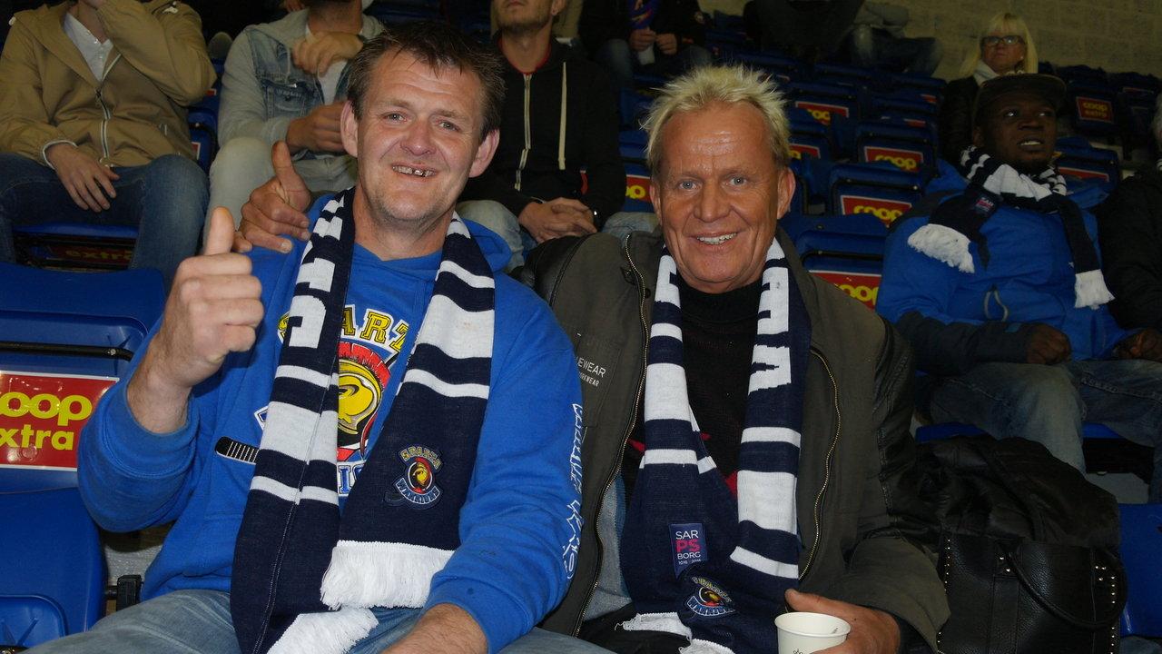 Roger og Karl Rune. Foto: Malin Lystad