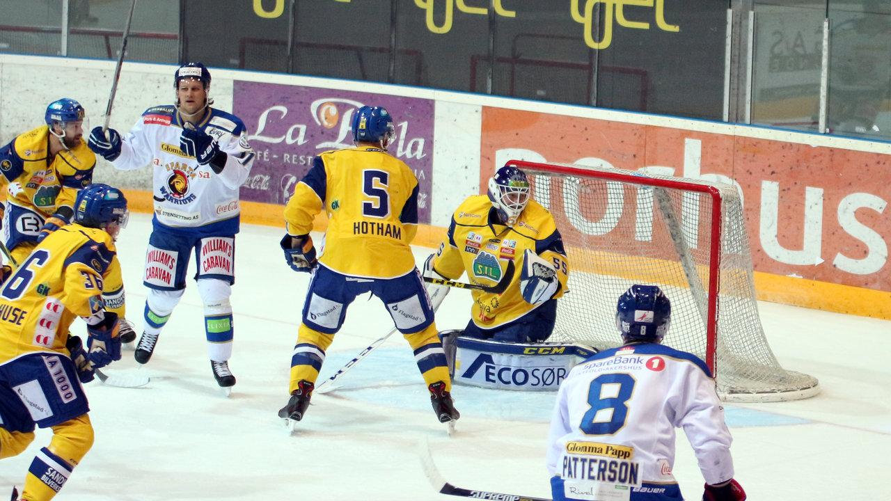 Eriksson satt inn kveldens første mål.