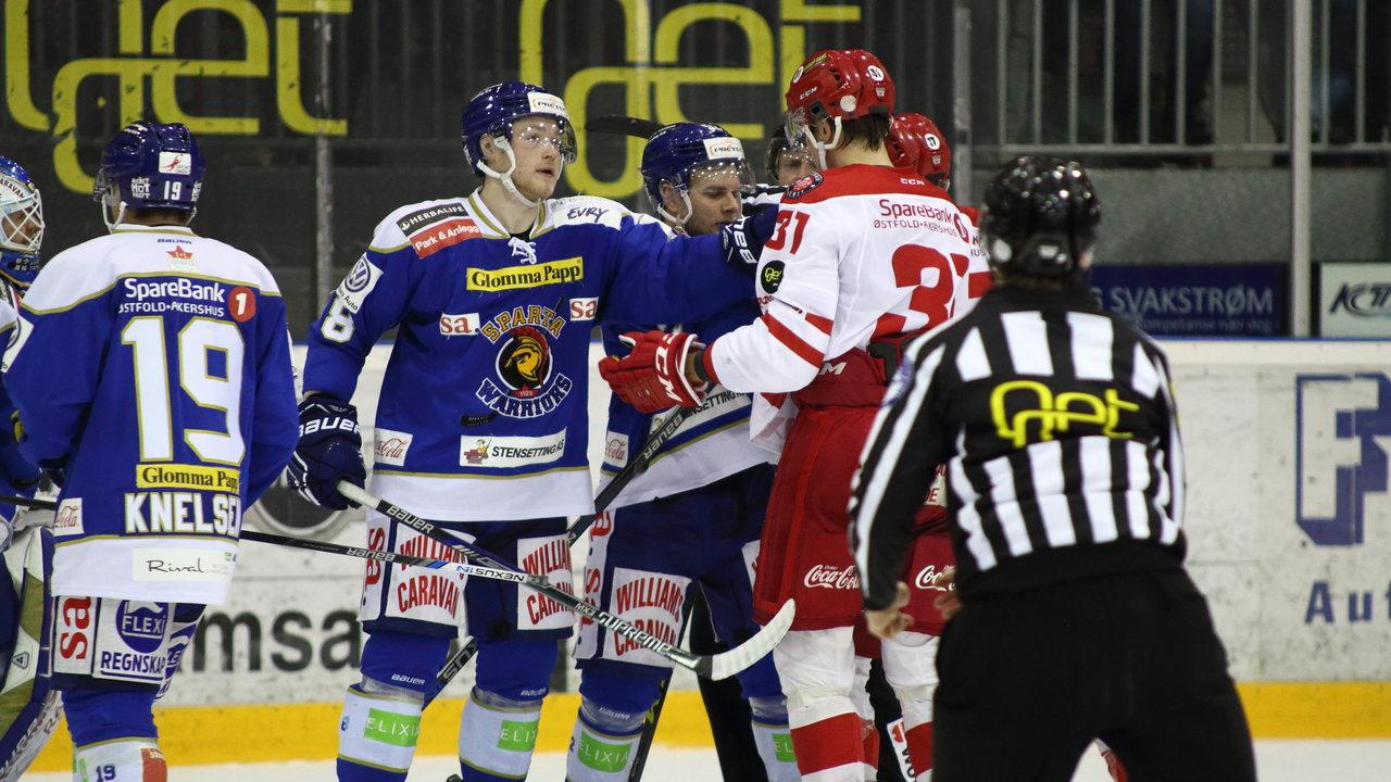 Gaelan Patterson har kontroll på Peter Wennerström.
