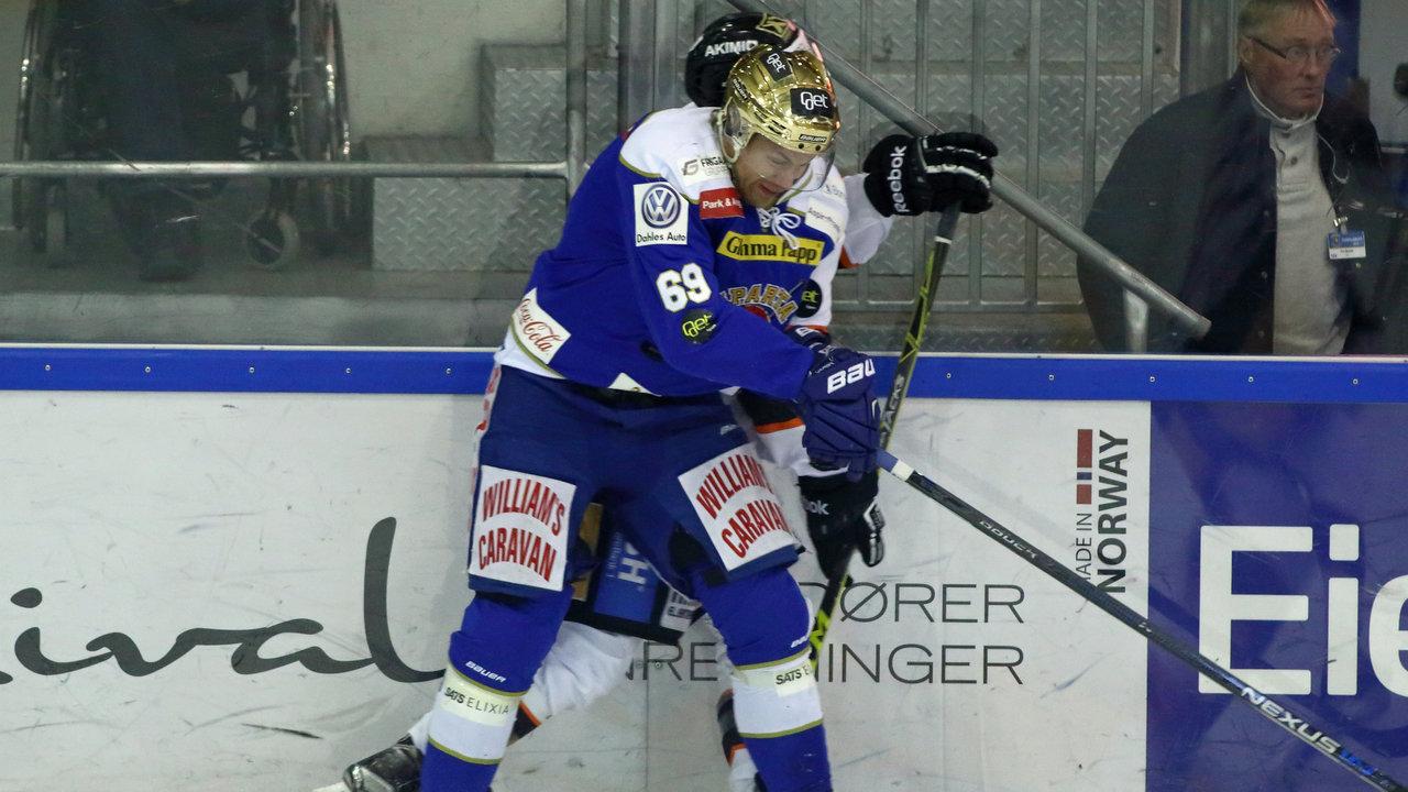Henrik Malmström gikk hardt i duellene. (Foto: Jon A. Johansen)