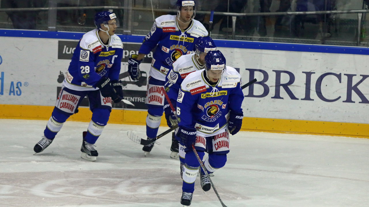 Kaptein Niklas Roest punkterte kampen ved 4-1. (Foto: Jon A. Johansen)