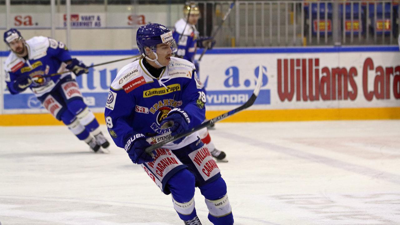 Daniel Öhrn produserte scoringer og assist mot Kongsvinger (Foto: Jon A. Johansen)
