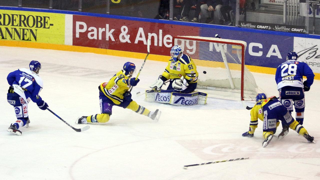Bovim scorer. Foto: Dagfinn Heidenberg