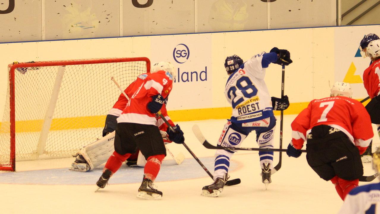 Niklas Roest satte sluttresultatet til 5-1!
