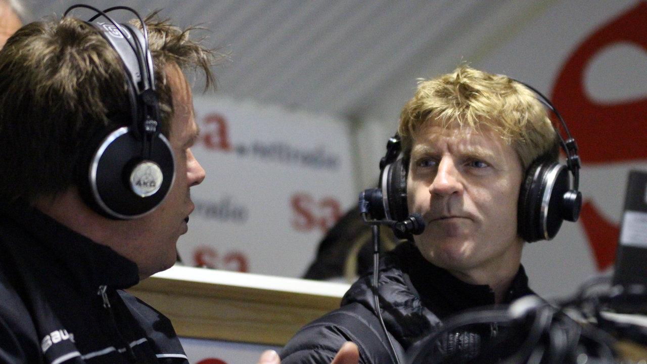 Per-Johan Axelsson har 11 sesonger bak seg i Boston Bruins i NHL. I dag var han på besøk i Amfien!