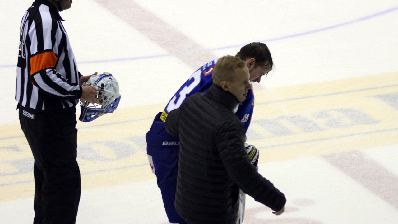 Tommy Johansen måtte forlate isen.