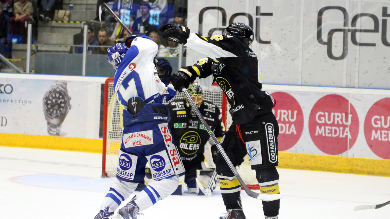 Patrick André Bovim i en duell.