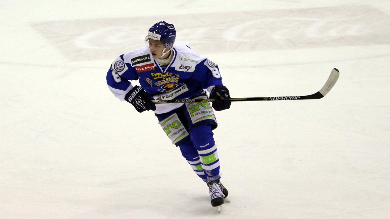 Henrik Knold gjorde en god figur for A-laget.